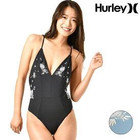 送料無料 レディース ワンピース 水着 ビキニ Hurley ハーレー AQ2783 フィットネス GX1 E6