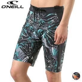 メンズ 水着 トランクス 海水パンツ ONEILL オニール 619402 20インチ丈 GX1 E17