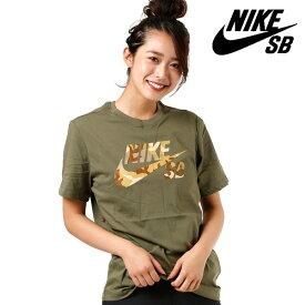 レディース 半袖 Tシャツ NIKE SB ナイキエスビー BV8167-222 GG2 E27