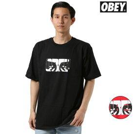 メンズ 半袖 Tシャツ OBEY オベイ 163081913 EYES OF OBEY GG1 F1