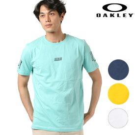 メンズ 半袖 Tシャツ OAKLEY オークリー 457696 TR RACING VERBIAGE TEE GG1 F11