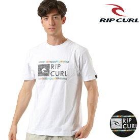 メンズ 半袖 Tシャツ RIPCURL リップカール T01-202 UNDER DRIVE SS TEE GX1 F6