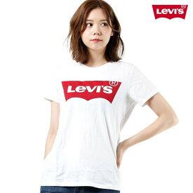 レディース 半袖 Tシャツ Levis リーバイス 17369-0053 バットウィングクルーネックTシャツ トップス ロゴ シンプル カジュアル GG1 F7