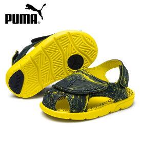 ジュニア サンダル PUMA プーマ 369498-01 Summer Sandal2 Marble PS GX1 F10