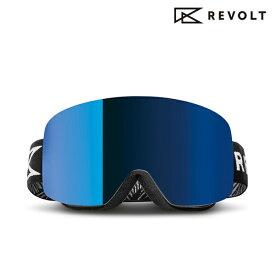 スノーボード ゴーグル REVOLT リボルト FRAMELESS フレームレス RC01PG FF F24