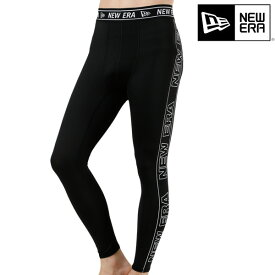 メンズ レギンス NEW ERA ニューエラ 12018859 TIGHTS WIDE LOGO TAPE PRINT GG F17
