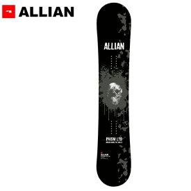 スノーボード 板 ALLIAN アライアン PRISM LTD プリズム リミテッド 19-20モデル メンズ GG F28