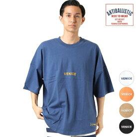 ANTIBALLISTIC アンティバルリスティック メンズ 半袖 Tシャツ 193AN1ST252 VENICE トップス シンプル 刺繍 GG2 F28