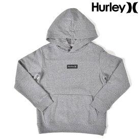 Hurley ハーレー キッズ ジュニア パーカー BQ2084 129cm〜160cm プルオーバー 裏起毛 GG1 G3