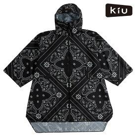 レインポンチョ KiU キウ K77-174 SLEEVE RAIN PONCHO スリーブレインポンチョ レインコート 雨 アウトドア ユニセックス GG G5