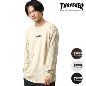 メンズ 長袖 Tシャツ THRASHER スラッシャー TH8302E GG H19
