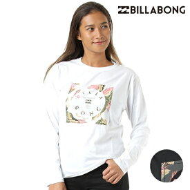 レディース 長袖 Tシャツ BILLABONG ビラボン AJ014-054 GX3 I7