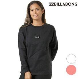 レディース 長袖 Tシャツ BILLABONG ビラボン AJ014-055 GX3 I7 MM