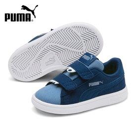 キッズ シューズ PUMA プーマ 369681-03 Puma Smash v2 Monster V Inf プーマスマッシュ V2 モンスターインファント GX3 H24