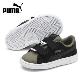 キッズ シューズ PUMA プーマ 369681-04 Puma Smash v2 Monster V Inf プーマスマッシュ V2 モンスターインファント GX3 H24
