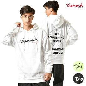 メンズ パーカー Diamond Supply Co. ダイヤモンド サプライ C19DMPF017 SHIMMER OG SCRIPT HD ムラサキスポーツ限定 GG3 H31