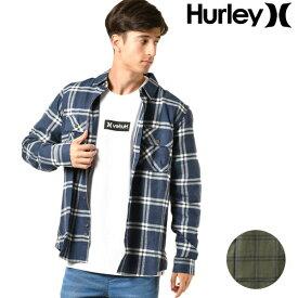 メンズ 長袖 シャツ Hurley ハーレー BV1560 GG3 I2