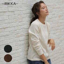 RIKKA FEMME リッカファム 長袖 Tシャツ R19W0004 レディース GG3 I11