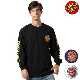 メンズ 長袖 Tシャツ SANTA CRUZ サンタクルーズ 50293408 RINGED DOT ポケット L/S-T GG3 I19 MM