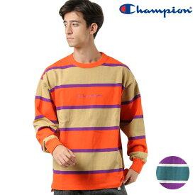 メンズ 長袖 Tシャツ Champion チャンピオン C3-PQ410 GX3 I30