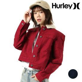 レディース ジャケット Hurley ハーレー CJ6016 GG3 I27