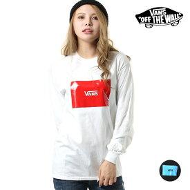 レディース 長袖 Tシャツ VANS バンズ VA19FW-GT09 GG3 I27