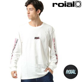 メンズ 長袖 Tシャツ roial ロイアル R903MCT01 GG3 J8 MM