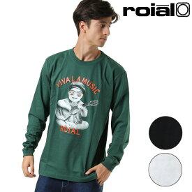 メンズ 長袖 Tシャツ roial ロイアル R903MLT04 GG3 J8 MM