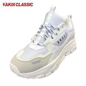 AKIII CLASSIC アキクラシック URBAN TRACKER レディース シューズ AKC-0003 WHITEGREY 靴 スニーカー ダッドシューズ GG3 K7
