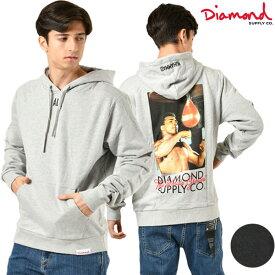 メンズ パーカー Diamond Supply Co. ダイヤモンド サプライ D19DMTG401S MUHA ALI WORLD GR HD GG4 L26
