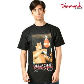 Diamond Supply Co. ダイヤモンド サプライ MUHAMMAD ALI WORLD GREATEST TEE メンズ 半袖 Tシャツ D19DMPA401S GG4 L24