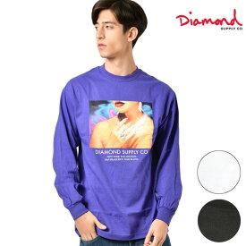 Diamond Supply Co. ダイヤモンド サプライ WOMENS HANDS LS TEE メンズ 長袖Tシャツ D19DMPC012 GG4 L23