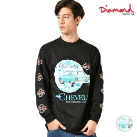 Diamond Supply Co. ダイヤモンド サプライ CHEVELLE MALIBU L/S TEE メンズ 長袖 Tシャツ D19DMPC304S GG4 L24
