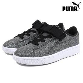 ジュニア シューズ PUMA プーマ 370634 PUMA VIKKY V2 RIBBON GLITZ AC ビッキー V2 リボン グリッツ AC 靴 スニーカー HX1 A14