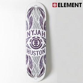 スケートボード デッキ ELEMENT エレメント AJ027-110 NYJAH FEATHERS PURPLE シグネチャーモデル 7.75インチ HH2 D4
