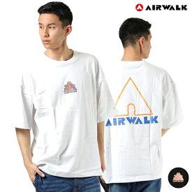 AIRWALK エアウォーク 0273-4801B メンズ 半袖 Tシャツ ムラサキスポーツ限定 HH1 D6
