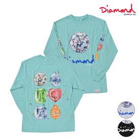 Diamond Supply Co. ダイヤモンド サプライ SPLASH SIGN L/S TEE A20DMPC020 メンズ 長袖 Tシャツ HH1 E26