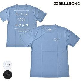 BILLABONG ビラボン BA011-870 メンズ 半袖 ラッシュガード Tシャツ UVカット バックプリント HX2 G13