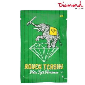 スケートボード パーツ ビス Diamond Supply Co. ダイヤモンド サプライ RAVEN TERSHY PRO 7/8 Z00DMSD511 HH H19