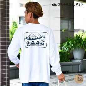 QUIKSILVER クイックシルバー OLD HABIT LT QLT204056 メンズ 長袖 Tシャツ トップス バックプリント HX3 H28 MM