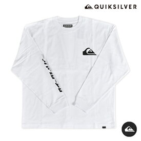 QUIKSILVER クイックシルバー KATAKANA & MW LT QLT204059 メンズ 長袖 Tシャツ オーバーサイズ カタカナ HX3 H28 MM