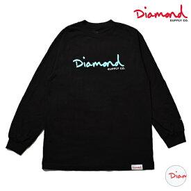 Diamond Supply Co. ダイヤモンド サプライ LOGO OG SCRIPT LS TEE Z00DMPC514 メンズ 長袖 Tシャツ ロンT HH3 I8
