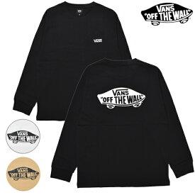 VANS バンズ Vans Logo L/S TEE バンズロゴ 120K1020500 メンズ 長袖 Tシャツ ロンT HH3 I1