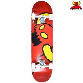 スケートボード コンプリート セット TOY MACHINE トイマシーン C15129 VICE MONSTER RED 7.75インチ HH L19
