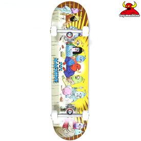 スケートボード コンプリート セット TOY MACHINE トイマシーン C20032 LAST SUPPER 03 8.0インチ HH L19