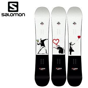 早期予約販売 スノーボード 板 SALOMON サロモン THE WALL L41507700 Banksy バンクシー 21-22モデル メンズ レディース II B20