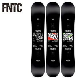 早期予約販売 スノーボード 板 FNTC エフエヌティーシー TNT R ティーエヌティー 21-22モデル メンズ レディース II E14