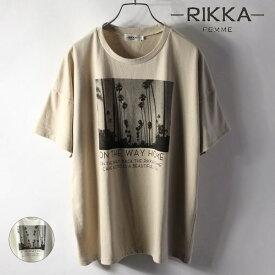 RIKKA FEMME リッカファム MS21HS03 レディース 半袖 カットソー Tシャツ II2 E27