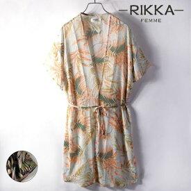 RIKKA FEMME リッカファム MS21HS06 レディース 半袖 シャツ ブラウス II2 E27