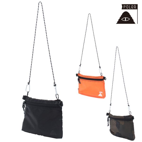 ショルダーバッグ POLER ポーラー 13160014 STUFFABLE FANNY PACK FFF J26